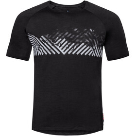 Odlo BL Concord SS Top Crew Neck Men black-mountain stripe SS19